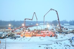 York Energy Center - (1) of (2) 2300yard Continuous Pours