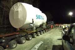 Siemens Turbine Heavy Haul
